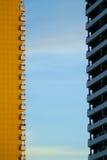 Abstrakte Gebäudefassaden Lizenzfreie Stockfotos