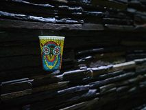 Abstrakte Gekritzelkunst lizenzfreie stockfotografie