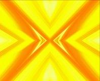 Abstrakte gelbe Linien Hintergrund der Kunst Stockfotografie
