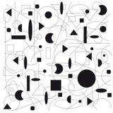 Abstrakte geometrische Abbildung Lizenzfreie Stockfotografie