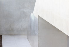 Abstrakte geometrische Architektur lizenzfreie stockbilder