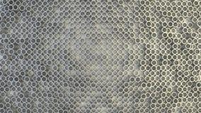 Abstrakte geometrische Beschaffenheit von nach dem Zufall verdrängten Kreisen stockbild