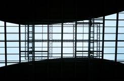 Abstrakte geometrische Decke Stockbild