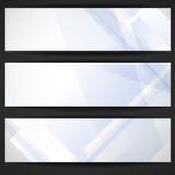 Abstrakte geometrische Fahne. Stockbild