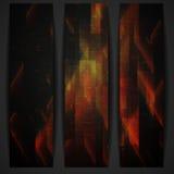 Abstrakte geometrische Fahne. Stockbilder
