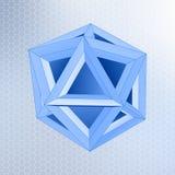 Abstrakte geometrische Form Stockfoto