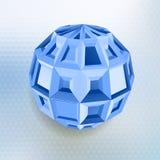 Abstrakte geometrische Form Stockfotos