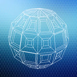 Abstrakte geometrische Form Stockbild