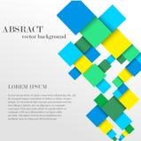 Abstrakte geometrische Form von den Diamanten Stockfoto