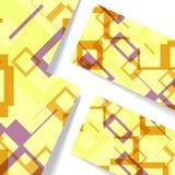 Abstrakte geometrische Formillustration Lizenzfreies Stockbild