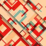 Abstrakte geometrische Formillustration Lizenzfreie Stockfotografie