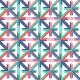 Abstrakte geometrische Hintergrund-Vektor-Illustration Stockbild