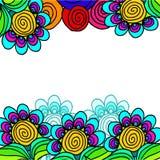 Abstrakte geometrische Hintergrundillustration Stockbild