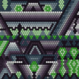 Abstrakte geometrische Hintergrundvektorvorlage Stockbilder