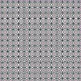 Abstrakte geometrische quadratische dunkle Fliesen-Muster-Gewebe-Illustrations-nahtloser Muster-Hintergrund Lizenzfreie Stockfotografie