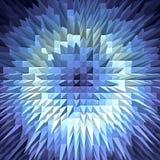 Abstrakte geometrische Steigung poligonal Beschaffenheit stockfotografie