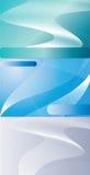 Abstrakte Geschäftsbesuchskarte Lizenzfreies Stockfoto