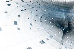 Abstrakte Geschäftswissenschaft oder Technologiehintergrund