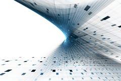 Abstrakte Geschäftswissenschaft oder Technologiehintergrund Lizenzfreies Stockbild