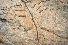 Abstrakte gestreifte Kalksteinblöcke Stockbild