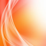 Abstrakte gewellte flüssige Energie Stockfoto