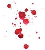 Abstrakte gezeichnetes buntes des Aquarellaquarells Hand Lizenzfreies Stockfoto