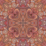Abstrakte gezeichnetes flüchtiges Konturnmeer des Vektors dekorative ethnische Hand Stockfotos