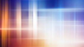 Abstrakte glühende Zeilen Stockfoto