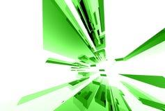 Abstrakte Glaselemente 035 Lizenzfreies Stockbild
