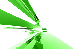 Abstrakte Glaselemente 038 vektor abbildung