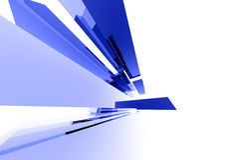 Abstrakte Glaselemente 040 Lizenzfreie Stockfotografie