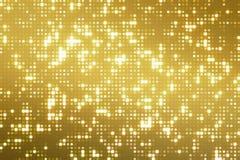 Abstrakte goldene Reflektoren punktieren nahtloses Klo des Funkelns und der Scheine stock abbildung