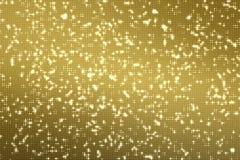 Abstrakte goldene Reflektoren punktieren nahtloses Klo des Funkelns und der Scheine vektor abbildung
