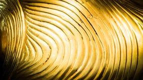 abstrakte Goldwellenlinie Muster vektor abbildung