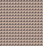 Abstrakte Goldzickzackmustertapete Stockfotografie