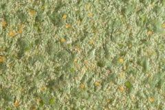 Abstrakte grüne Beschaffenheit der dekorativen Gipsflüssigkeitstapete stockfoto