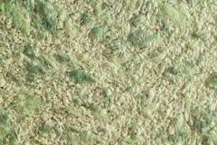 Abstrakte grüne Beschaffenheit der dekorativen Gipsflüssigkeitstapete Stockbild