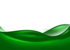 Abstrakte grüne Hügel Lizenzfreie Stockfotos