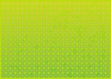 Abstrakte grüne Kreise und Dreieckhintergrund Stockfoto