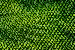 Abstrakte grüne Masche Stockbilder