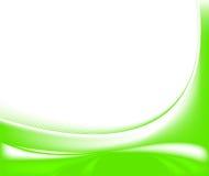 Abstrakte grüne pädagogische Bescheinigung Stockfotografie