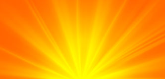 Abstrakte grüne Sonnenstrahlen, Klimakonzeptfrühlingshintergrund Stockfotos