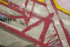 Abstrakte Graffiti Lizenzfreie Stockbilder