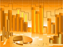 Abstrakte Grafikdarstellung Stockfoto