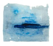 Abstrakte Grafiken der Aquarellillustrationen lizenzfreie stockfotos