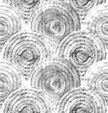 Abstrakte grafische Skalen Hand gezeichnetes nahtloses Muster Lizenzfreie Stockfotos