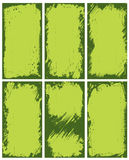 Abstrakte grüne Ränder Lizenzfreie Stockbilder