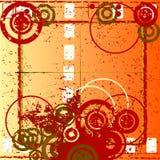 Abstrakte grunge Auslegung Stockbild