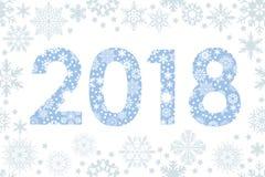 Abstrakte guten Rutsch ins Neue Jahr-Zusammensetzung lizenzfreie abbildung