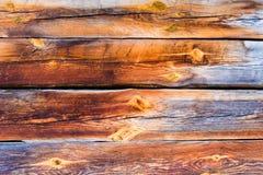 Abstrakte hölzerne Tapete Stockbilder